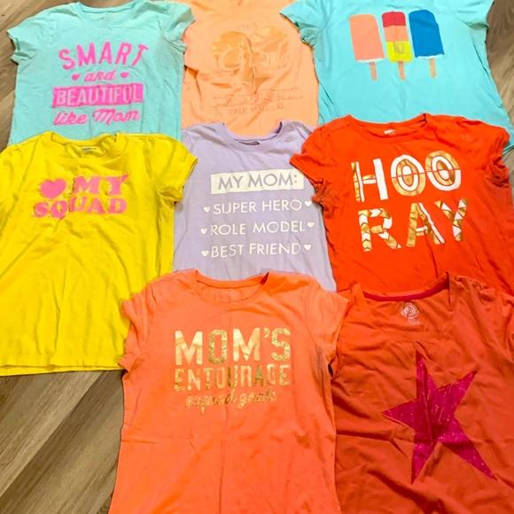 Girls Graphic Tshirt Lot Size 14